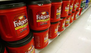 Folgers, not a new premium brand.