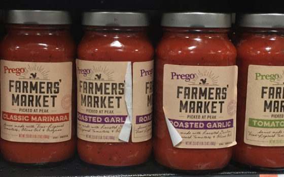 National food brands appear local