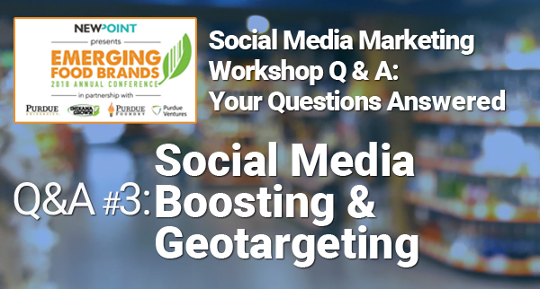 Social Media Boosting and Geotargeting