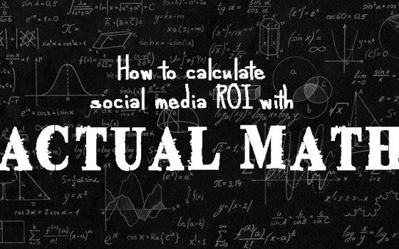 Calculate ROI