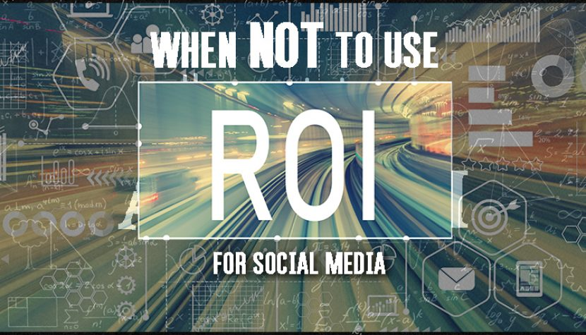 when not to use ROI