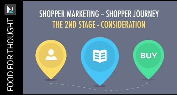 Shopper's Journey 2nd Consideration