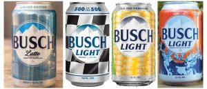 busch light cans