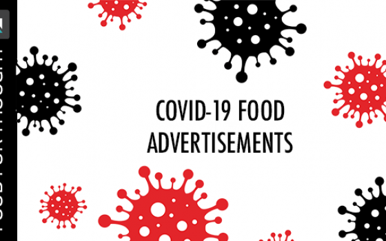 covid-19 food advertisements