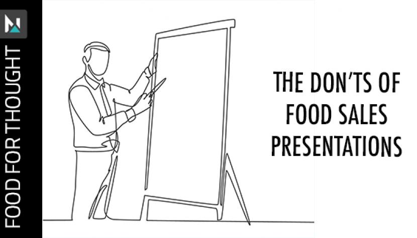 food sales presentations