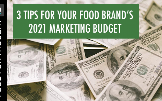 marketing budget header